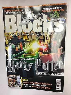 BLOCKS Mag Issue 26 DEC 2016 Lego Building Collecting Custom HARRY POTTER BEASTS