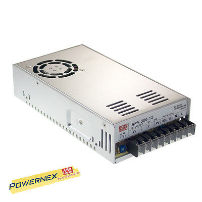 MEAN WELL [PowerNex] NEW SPV-300-24 24V 12.5A 300W Single Output Power Supply