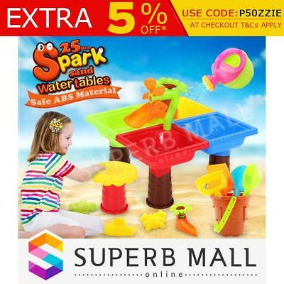 Kids Water Sand Children's Beach Activity Play Toys Table Sandpit Toy Set