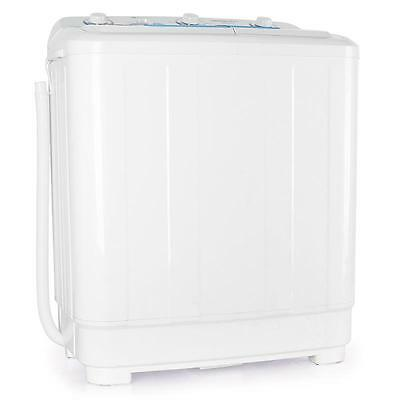 PORTABLE COMPACT WASHING MACHINE 8.5kg HOME GARDEN CAMPING TRAVEL SPIN WASHER