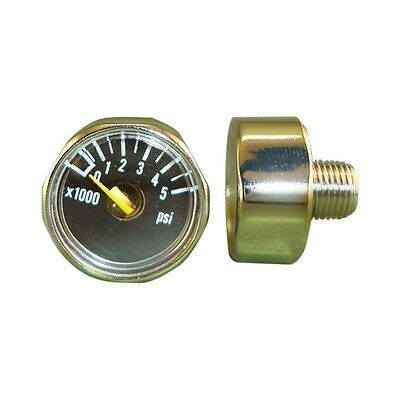 ALEKO Paintball 5000 Psi Mini Pressure Gauge Paintball Accessories