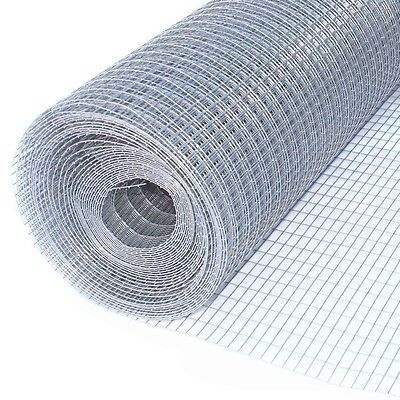 ALEKO 10Ft Mesh Wire Roll Cloth 16 Gauge Steel 1/2x1 Mesh WM30X10M1/2X1G16