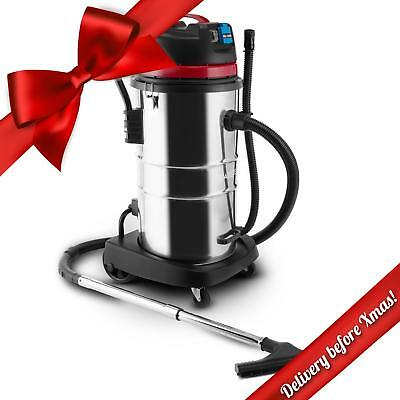 New 60L Wet-Dry Powerful Industrial Vacuum Cleaner 2000W Heavy Duty Vacuum
