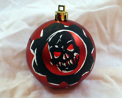 Gears of War Christmas Ornament Painted Decoration GOW Xbox Gamer Gift
