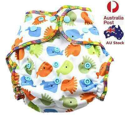 Top Quality Sleepy Nights Modern Cloth Nappy Unisex Baby Cloth Nappy- Free Liner