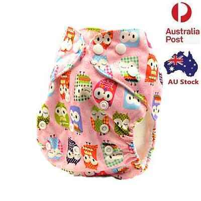 Baby Girl Reusable Nappies for Newborn Cloth Nappy Pocket Nappies Diapers (D139)