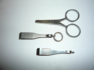 Hardy Of Alnwick Line Clippers (2) And Scissors