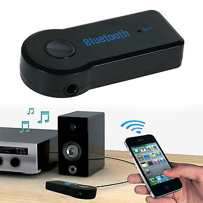 NEW Bluetooth 3.5mm AUX Audio Stereo Home Car Receiver Adapter Wireless OG