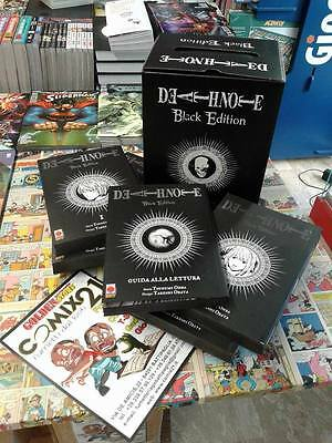 DEATH NOTE BLACK EDITION BOX COMPLETO Planet Manga