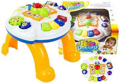 Baby Learning Table - educational piano, with cute butterfly