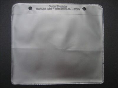 NEW! 2 x Spare 'WINDOWS' to fit  MUSIC FLIP FOLDERS/Folio for MARCHING BAND.