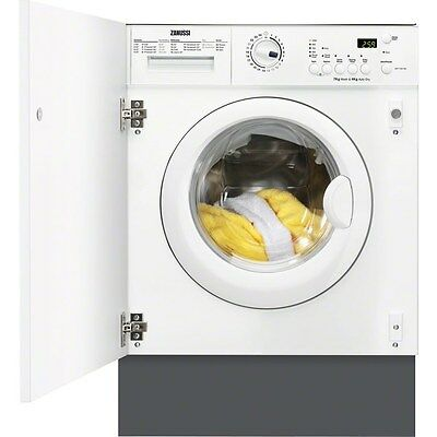 Zanussi ZWT71201WA Fully Integrated 7kg wash 4kg dry Washer Dryer FA8394