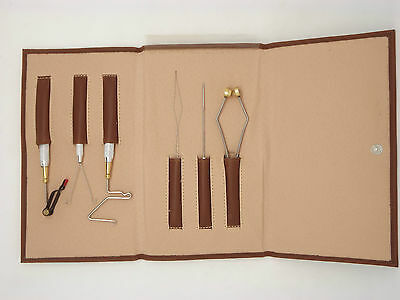 Deluxe Fly tying tool kits 6 pz. per morsetto ( da Fishing4Trout)