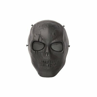 ALEKO PBSSM19BK Skull Skeleton Airsoft Mask With Wire Mesh Tactical Paintball