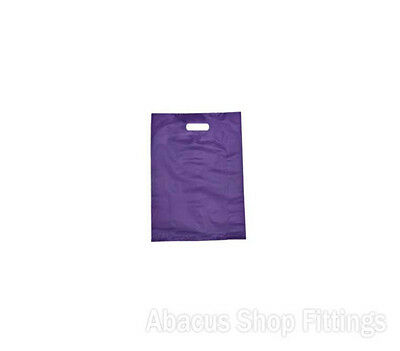 HDPE PLASTIC BAG SMALL - PURPLE Ctn/1000