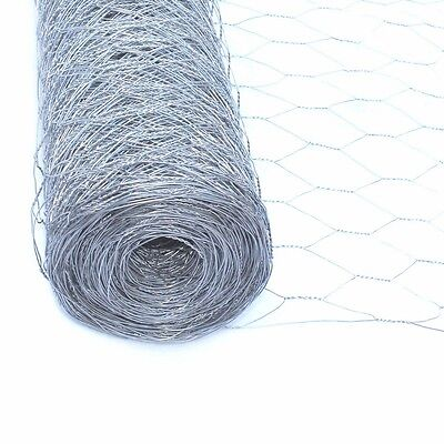 "ALEKO 150ft Mesh Wire Roll Cloth 20 Gauge Steel 24x150 2"" Mesh WM24X150M2G20"