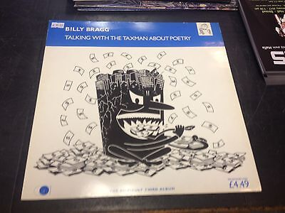 Billy Bragg - Talking With The Taxman About Poetry Lp