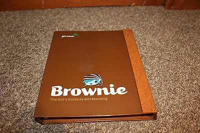 Brownie Girl Scouts Guide To Girl Scouting Handbook 3 Ring Binder