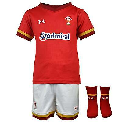 Under Armour Wales WRU 2016/17 Home Infant Kit