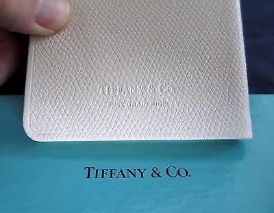 Vintage Tiffany Wedding Shower Gift Brides Notes Leather Book Ledger New in Box
