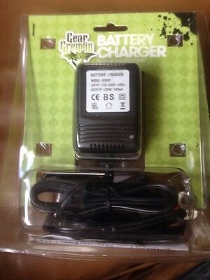 Gear Gremlin 12V Battery Charger for charging motorcycle batteries