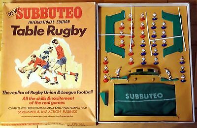 Subbuteo Rugby Edition  Wigan v Halifax Complete
