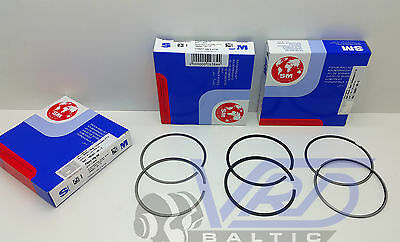 Audi 100 80 A4 A6 A8 Coupe 2.8 Piston Rings Set Std For 6 Cylinders Aah