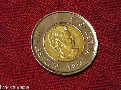 "Canada 2013 2 Dollars Toonie ""Polar Bear"" MS Uncirculated"