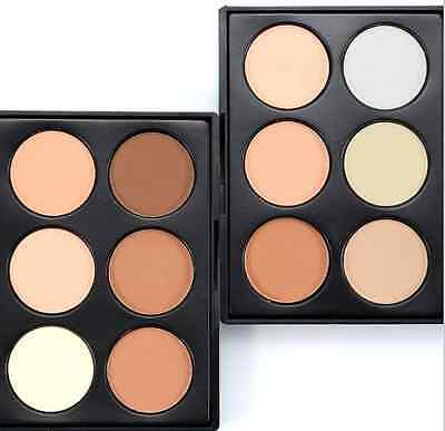 Puder Palette Highlighter Bronzer Contouring Make Up Nude Glow Kit Powder Kontur