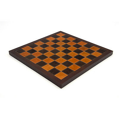 14 Inch Leather Italian Chess Board RCB120