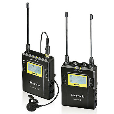 Saramonic UHF Wireless Lavalier Microphone System for Canon Nikon DSLR Camcorder