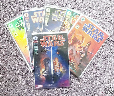 Star Wars Prelude To Rebellion 1-6 Dark Horse Holofoil Cover Incl Signed Ltd Edn