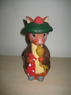 Frederick Warne and Co Beatrix Potter Rabbit Soap Dispenser 1993 Plastic NICE