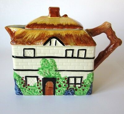 Cottage Jug With Lid - Empire Ware Tudor Series -Pottery Creamer Sauce Jug