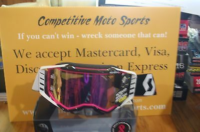 Scott Prospect MX goggle - Breast Cancer Awareness Limited Edition!