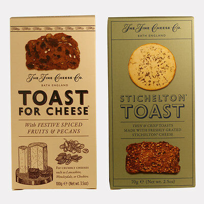 Festive Toast for Cheese Duo, 1x100g 1x70g