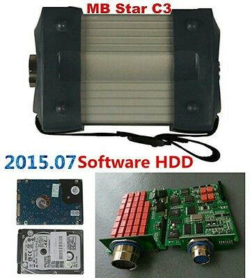 MB STAR C3 with 2015.07 Software hdd mb star c3 DHL Free shipping