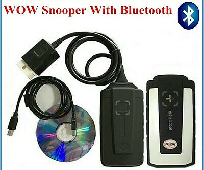 WoW Snooper With Bluetooth V5.00.8 R2 Professional Diagnostic Scanner Tool