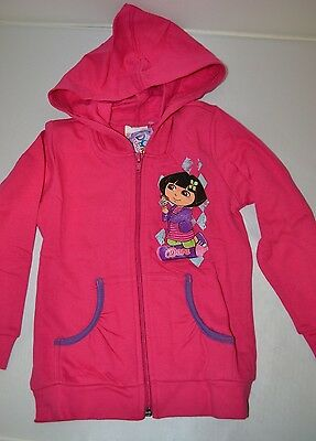 Dora The Explorer Pink Hoodie, Hooded Jacket BRAND NEW 3-4 / 5-6 Years