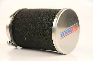 Scooter Moped Universal Chrome Ram Air Race Filter 68 x 70mm - 40mm Fitting