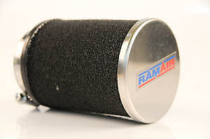 Peugeot Universal Chrome Ram Air Race Filter 68 x 70mm - 40mm Fitting