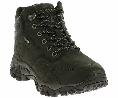 NEW size 11 Merrell Moab Rover Mid Waterproof Mens Hiking Boots Shoes Black men