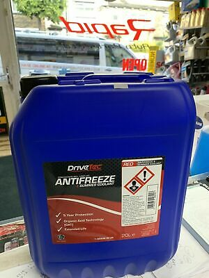 20 LTR Ve Tech New CONCENTRATED RED LONGLIFE (5yr) ANTIFREEZE - 20 LITRE 20L