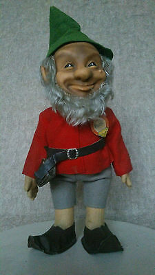 "Lovely Steiff dwarf ""Pucki"" 12"" - excellent condition with label, button & tag"