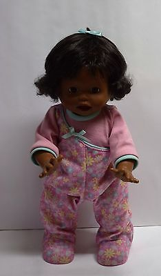 Little Mommy Real Loving Baby Walk & Giggle African-American Baby Doll 15.5""