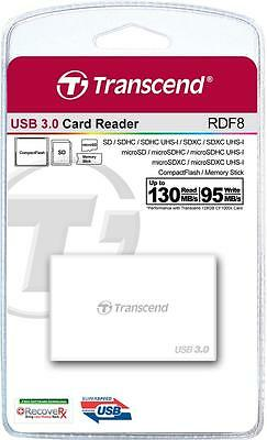 Transcend USB 3.0 High Speed Multi-Card Reader for SD/SDHC/SDXC/MS/CF Cards
