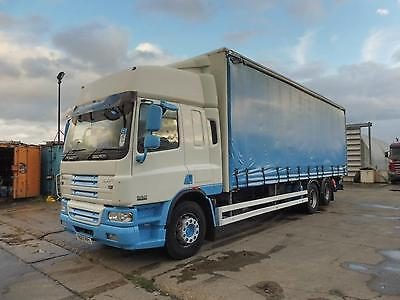Daf Trucks Cf75 310 Bhp 6X2 Curtainsider