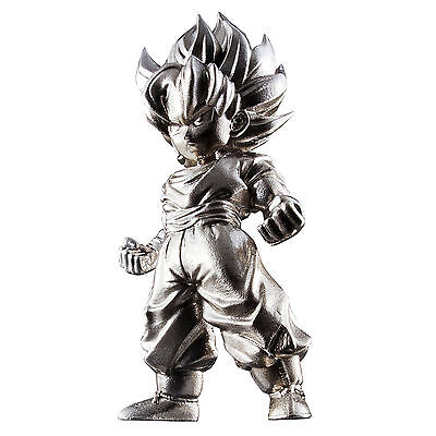 Bandai Dragon Ball Z Chogokin Super Saiyan Goku Metal Mini Figure NEW Toys