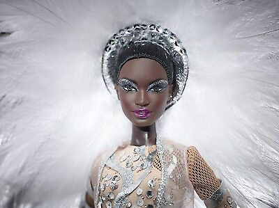 Stephen Burrows Pazette Barbie Doll Gold Label Shipper NRFB 2012 SOLD OUT W3459