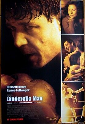 Cinderella Man (2005) D/S Regular 'D' Cinema One-Sheet Poster, Russell Crowe